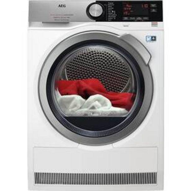 Sušička prádla AEG FiberPro T9DBC68SC 3DScan bílá barva akce v 23990Kč