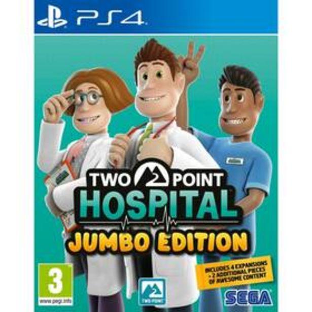 Hra Sega PlayStation 4 Two Point Hospital: JUMBO Edition (5055277041930) akce v 699Kč