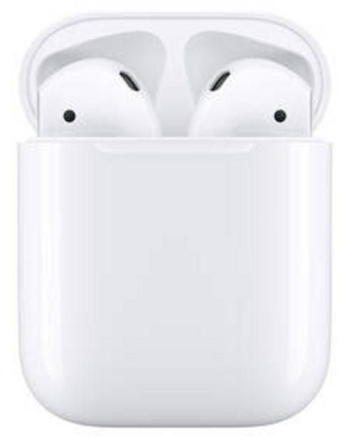 Sluchátka Apple AirPods (2019) (MV7N2ZM/A) bílá akce v 3490Kč