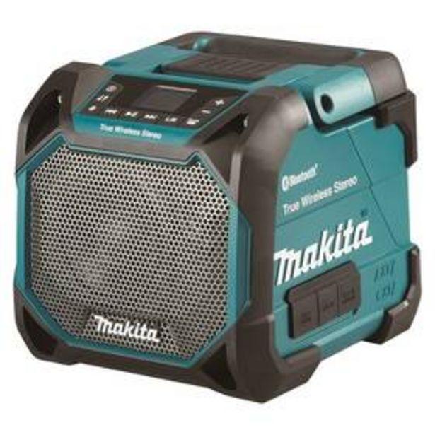 Stavební rádio Makita DMR203 (bez aku) akce v 3790Kč