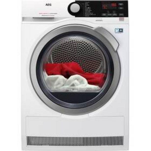 Sušička prádla AEG AbsoluteCare® T8DBE68SC bílá akce v 18490Kč