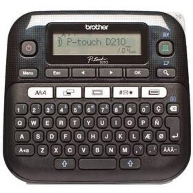 Tiskárna štítků Brother PT-D210VP (PTD210VPYJ1) akce v 939Kč