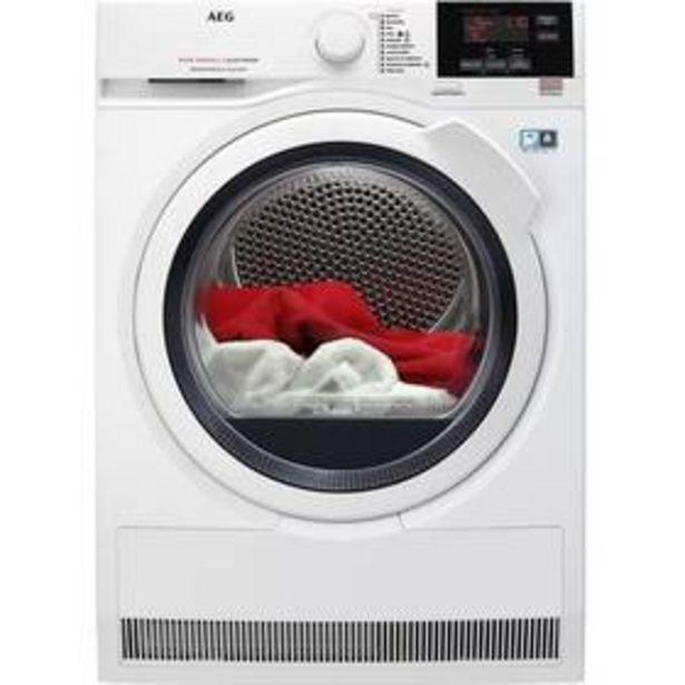 Sušička prádla AEG AbsoluteCare® T8DBG48WC bílá akce v 14990Kč