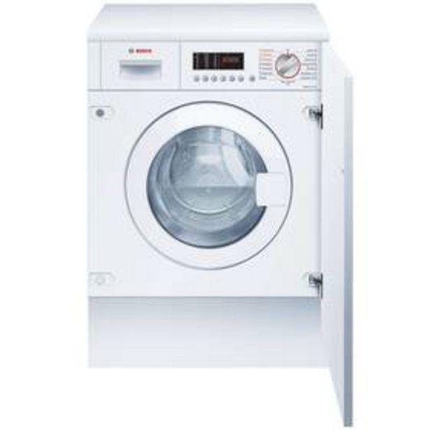 Pračka se sušičkou Bosch Serie | 6 WKD28542EU bílá akce v 26495Kč