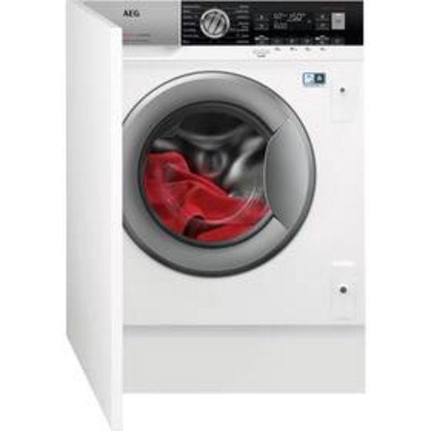 Pračka se sušičkou AEG ÖKOMix® L8WBE68SI bílá akce v 24490Kč