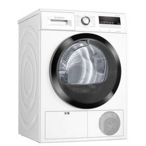 Sušička prádla Bosch Serie | 4 WTH85204BY bílá akce v 13990Kč