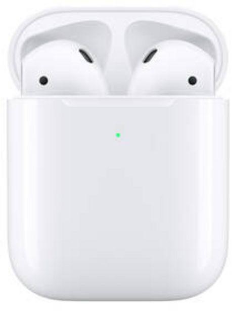 Sluchátka Apple AirPods, bezdrátové nabíjení (2019) (MRXJ2ZM/A) bílá akce v 3999Kč