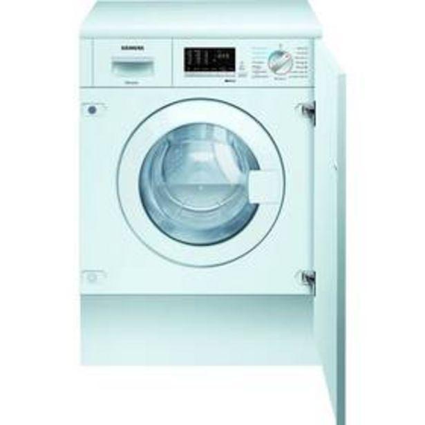 Pračka se sušičkou Siemens iQ500 WK14D542EU bílá akce v 29990Kč