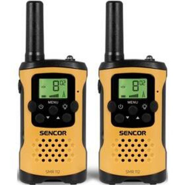 Vysílačky Sencor SMR 112 TWIN (30017990) akce v 549Kč