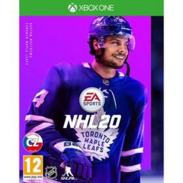 Hra EA Xbox One NHL 20 (EAX354551) akce v 639Kč