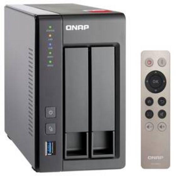 Datové uložiště (NAS) QNAP TS-251+-2G (TS-251+-2G) šedá akce v 9899Kč