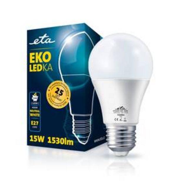 Žárovka LED ETA EKO LEDka klasik 15W, E27, neutrální bílá (A65W15NW) akce v 119Kč