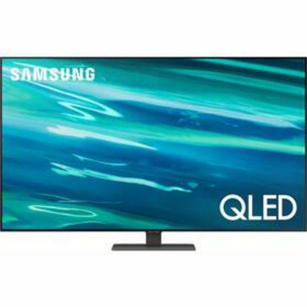 Televize Samsung QE55Q80A stříbrná akce v 24990Kč