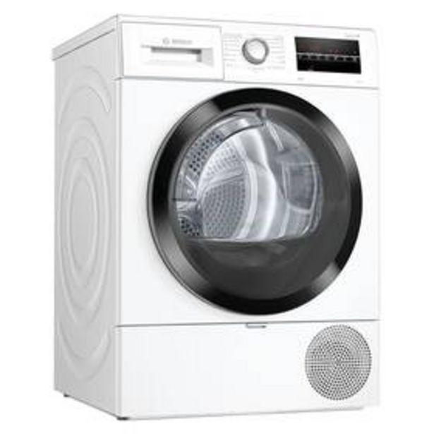 Sušička prádla Bosch Serie | 6 WTR87TW2CS bílá akce v 17990Kč