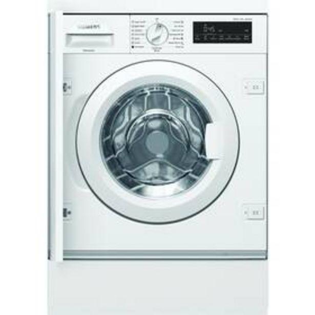 Pračka Siemens iQ700 WI14W541EU bílá akce v 24495Kč
