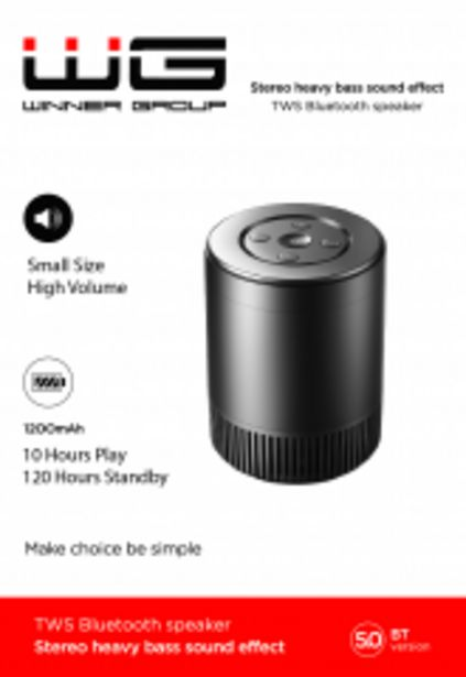 Bluetooth Mini Speaker, černá akce v 477Kč