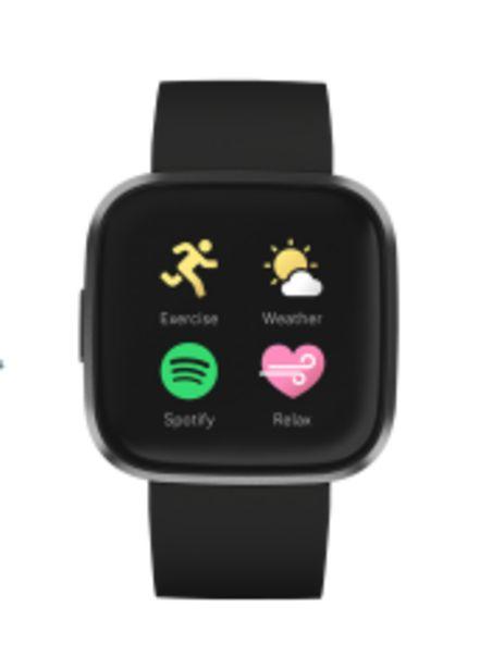 Hodinky Fitbit Versa 2 (NFC), černá akce v 4677Kč