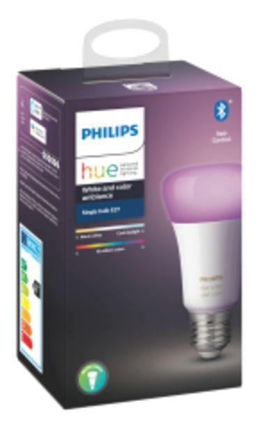Philips Hue Bluetooth žárovka LED E27 9W, bílá akce v 1777Kč