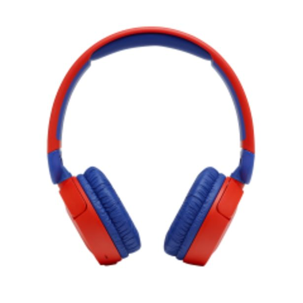 Sluchátka JBL JR 310BT, čeveno/modrá akce v 1377Kč