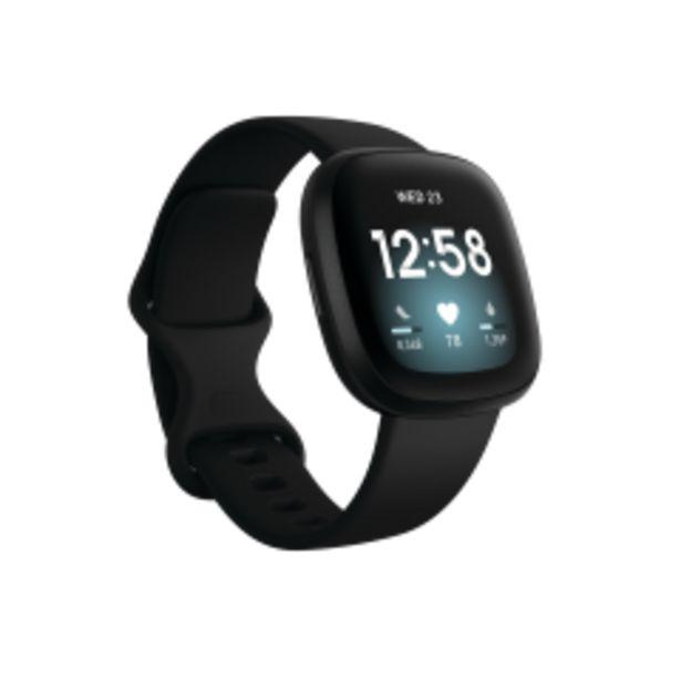 Hodinky Fitbit Versa 3, černá akce v 6377Kč