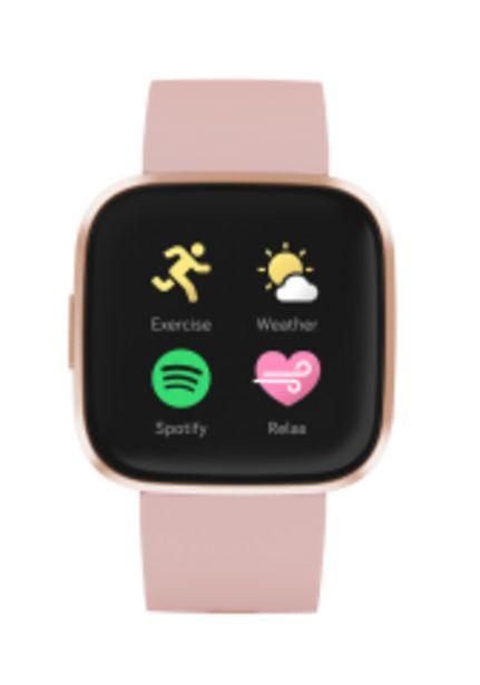 Hodinky Fitbit Versa 2 (NFC), růžová akce v 4677Kč