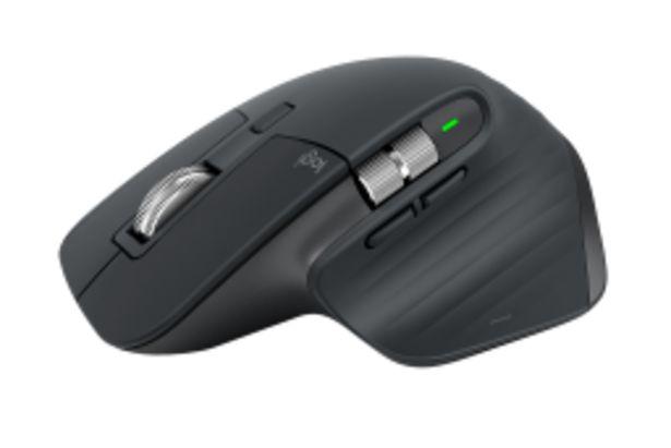 Myš Logitech MX Master 3, tmavě šedá akce v 2977Kč