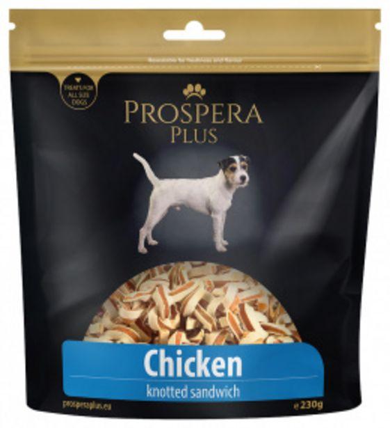 Pochoutka Prospera Plus uzlíky kuřecí sandwich 230g akce v 169Kč