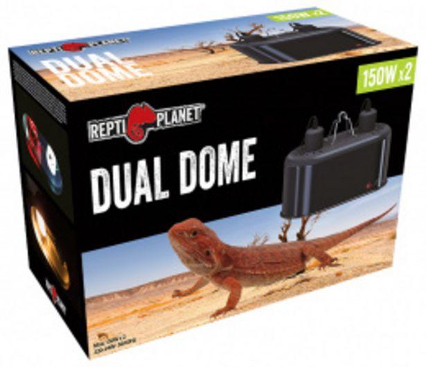 Repti Planet Osvětlení Dual Dome 2x150W akce v 849Kč