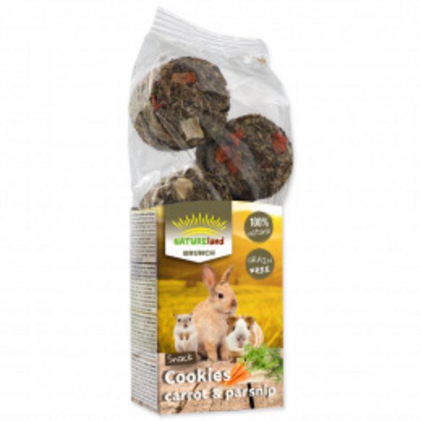 Pochoutka Nature Land Brunch sušenky mrkev a pastinák 120g akce v 64Kč