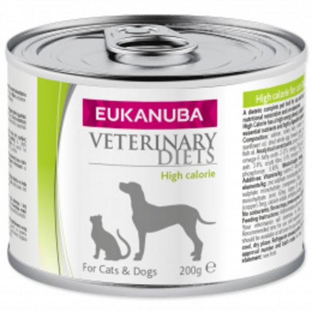 Eukanuba VD High Calorie CD 200g akce v 64Kč