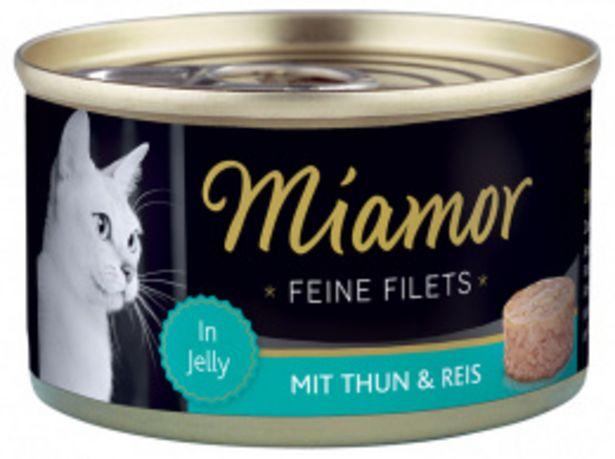 Konzerva MIAMOR Feine Filets tuňák + rýže v želé 100g akce v 44Kč