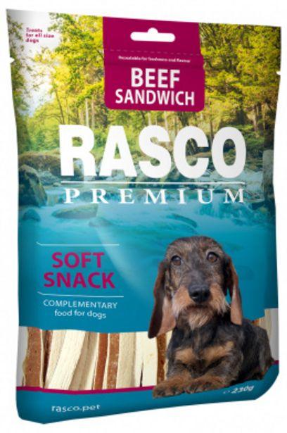 Pochoutka Rasco Premium sendviče z hovězího masa 230g akce v 109Kč