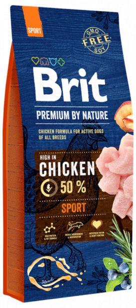 Brit Premium by Nature Sport  15kg akce v 929Kč