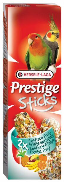 Tyčinky VERSELE-LAGA Prestige exotické ovoce pro střední papoušky 140g akce v 104Kč