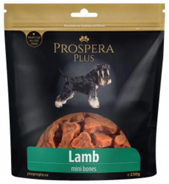Pochoutka Prospera Plus mini kosti z jehněčího masa 230g akce v 169Kč