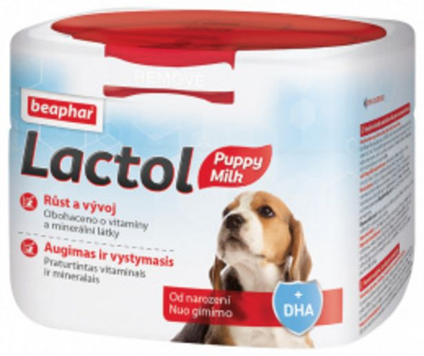 Sušené mléko Beaphar Lactol Puppy Milk 250 g akce v 349Kč