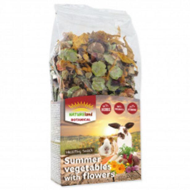 Pochoutka Nature Land Botanical letní zelenina s květy 100g akce v 54Kč