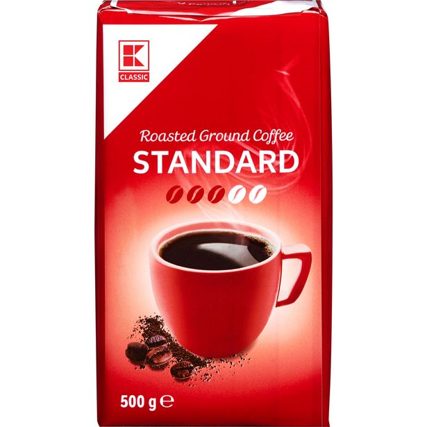 Mletá káva standard akce v 44,9Kč