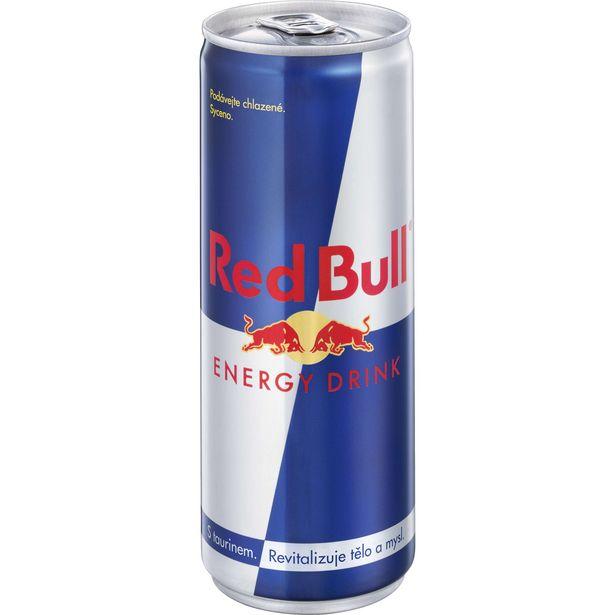 Energetický nápoj různé druhy akce v 24,49Kč