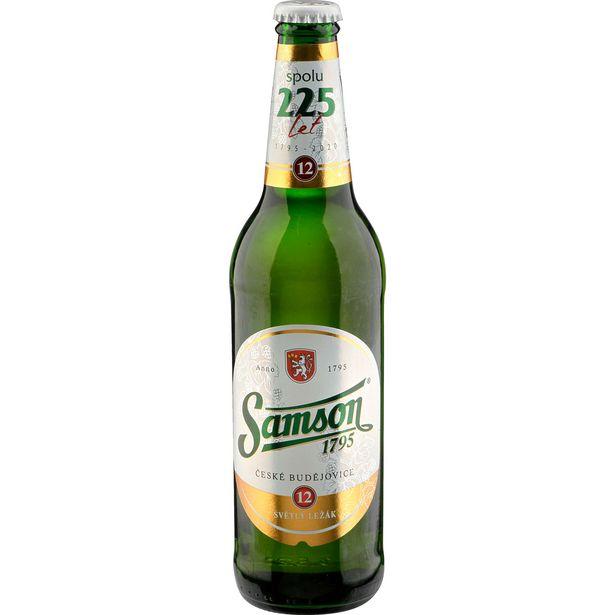 Pivo světlý ležák akce v 10,1Kč