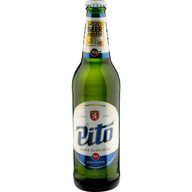 Pivo světlé nealkoholické akce v 7,77Kč