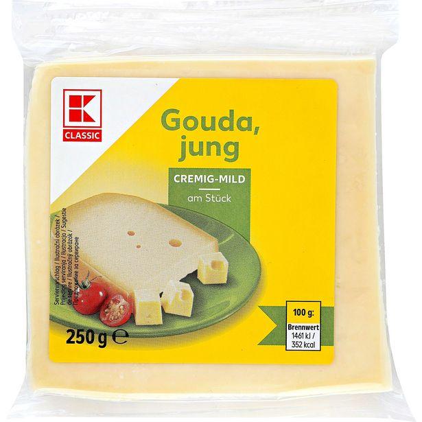 Gouda Polotvrdý sýr akce v 34,43Kč