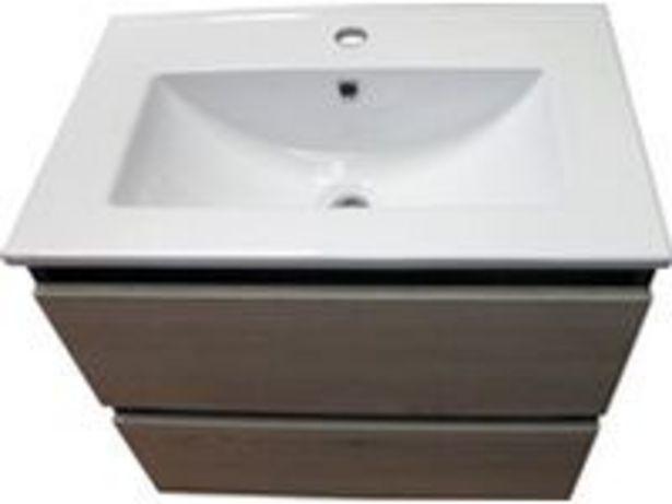 Koupelnová skříňka EVITA 60 s umyvadlem, 600 x 548 x 400 mm akce v 5799Kč