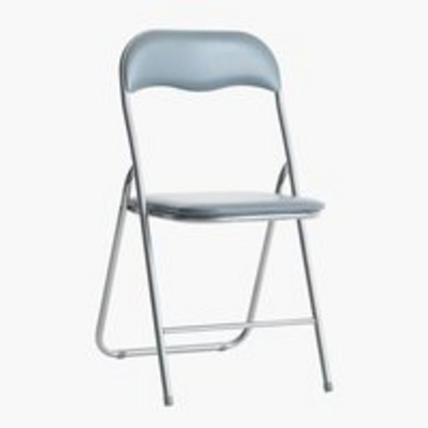 Skládací židle VIG šedá akce v 350Kč