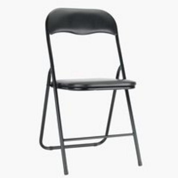 Skládací židle VIG černá akce v 350Kč