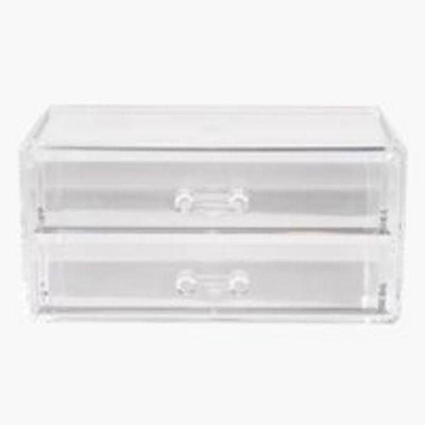 Box na make-up BRANTEVIK W12xL18xH9cm akce v 165Kč
