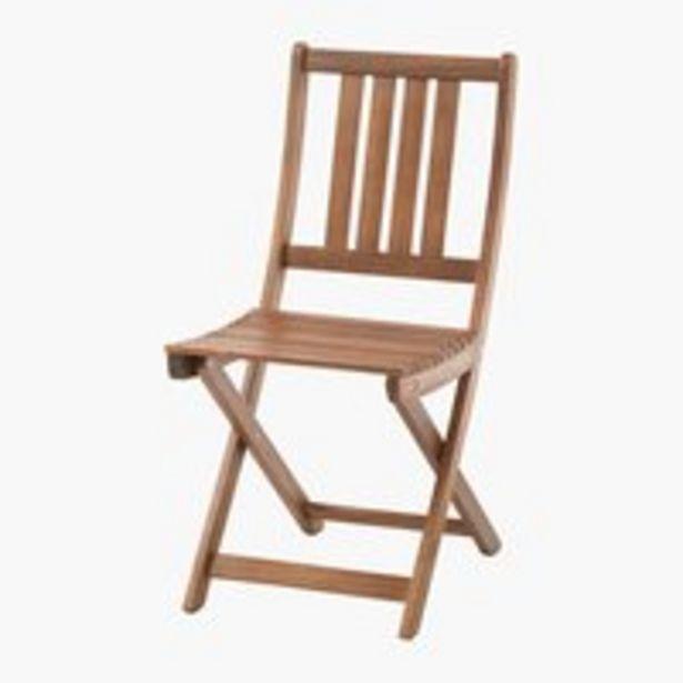 Skládací židle EGELUND tvrdé dřevo akce v 999Kč