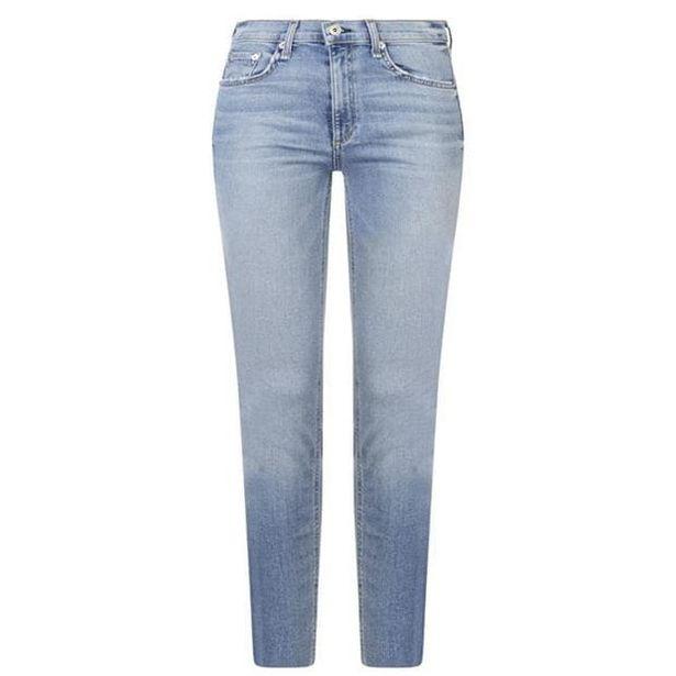 Rag and Bone Rag High Rise Ankle Skinny Jeans Womens akce v 2059Kč