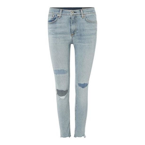 Rag and Bone Ankle Skinny Jeans akce v 1704Kč