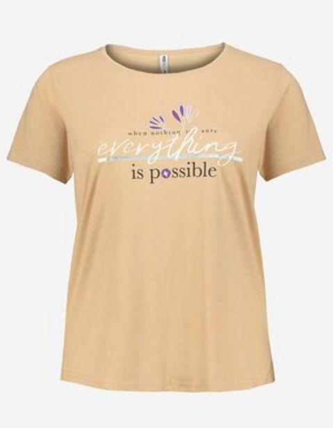 Dámy tričko - Potisk Message akce v 199Kč